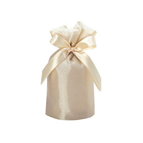 包む ラッピング袋 巾着 ノーブル シャンパンゴールド M T-2845-M