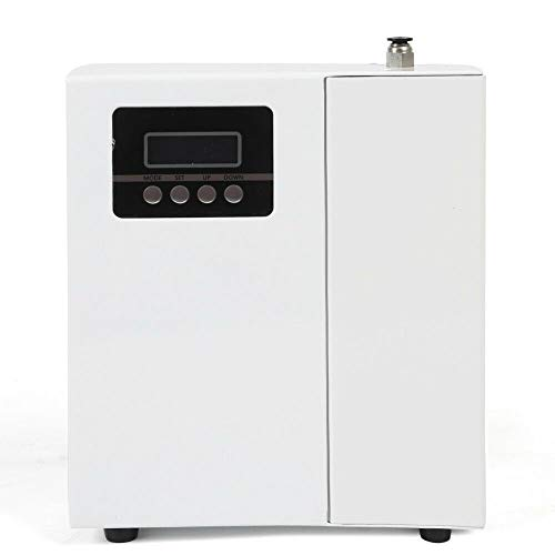 Air Scent Machine Cover 1,100 sq.ft (100 m²) Area with Powerful Smell Outlet,150ml bottle Aroma Essential Oil Diffuser Work for Hotel Office Business Commercial (WHITE)