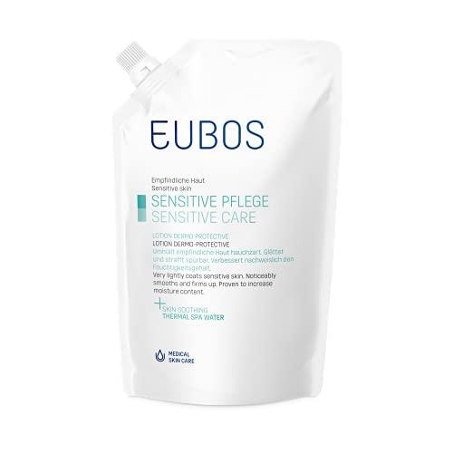 Eubos Dermo Protectiv für normale bis trockene Hautverträglichkeit dermatologisch bestätigt Lotion Nachfüllbeutel, 400 ml