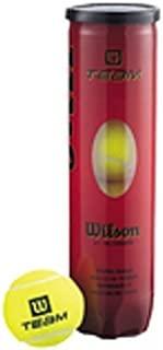 Wilson Team W Tennis Balls - Tube of 4 by Wilson