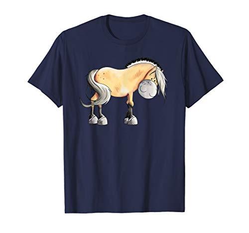 Lustiges Fjordpferd T-Shirt I Norweger Pferd I Geschenk