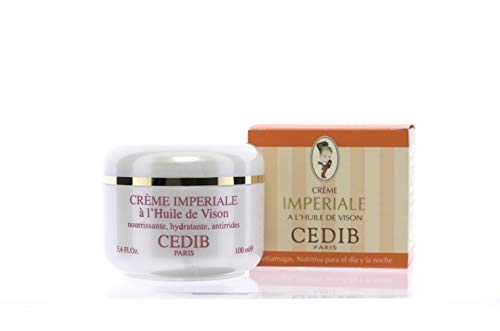 Cedib Paris Crema Hidratante Imperiale al Aceite de Visón, Crema Ligera, 100 Mililitros