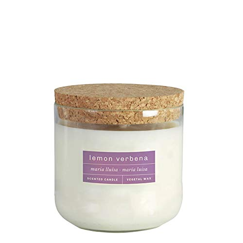 Lemon Verbena Vegetal Wax 60H 400gr Scented Candle