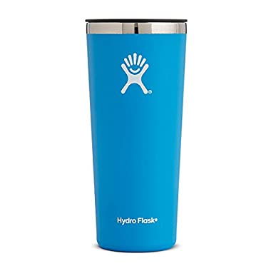 Hydro Flask 22 oz Double Wall Vacuum Insulated Stainless Steel Travel Tumbler Cup with BPA Free Press-In Lid, Pacific