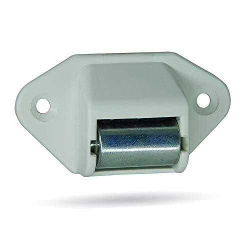 Rolladen Gurtführung, Gurtleitrolle für Rollladengurt bis 23mm   Stahlrolle inkl. Bürstendichtung in Handwerkerqualität   2 Stück