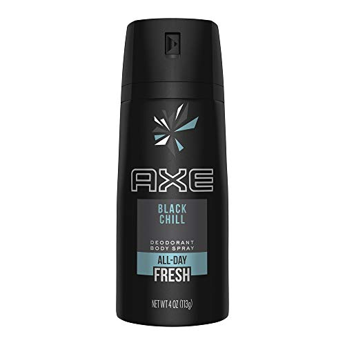 Axe Daily Fragrance Black Chill 4 oz (Packs of 4)