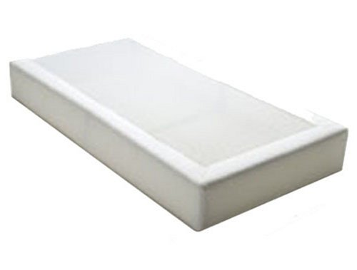 PurFlo Cot Mattress to fit Cot Bed 140cm x 70cm, Breathable & Washable