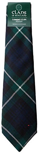 I Luv Ltd Lamont Clan 100% Wool Scottish Tartan Tie