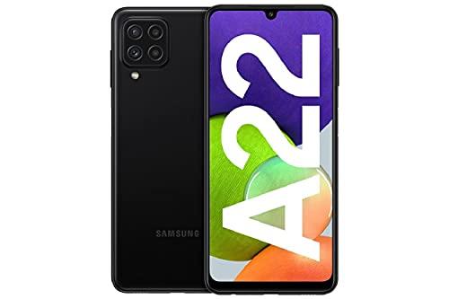 Samsung Galaxy A22 - Smartphonelibrecon 6.6 Pulgadas y Sistema Operativo Android Negro Versión ES