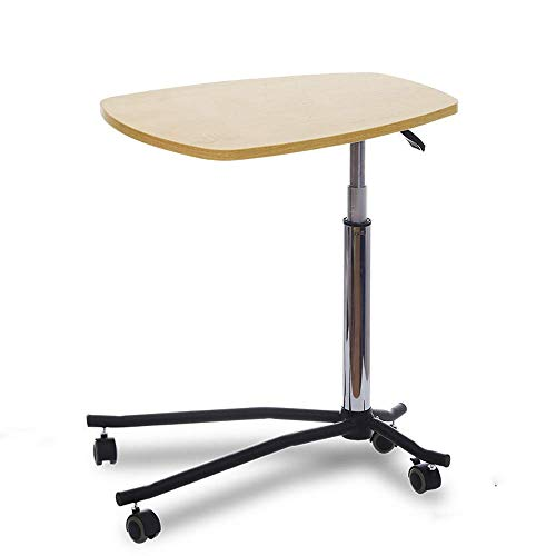 Home&Selected fineer/tafel in hoogte verstelbaar onderhoudsmiddel, slaapbank, bijzettafel, laptop (kleur: B) B