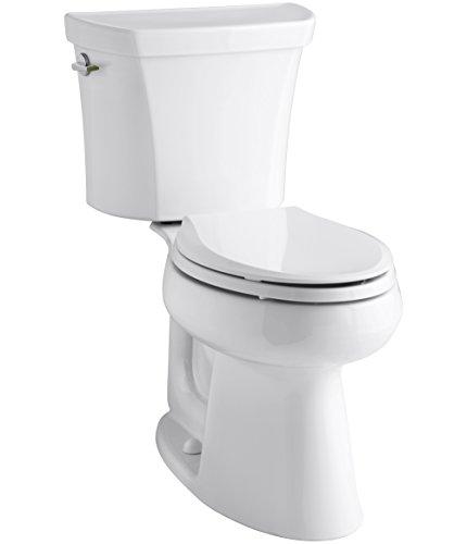 KOHLER K-3989-0 Toilet, White