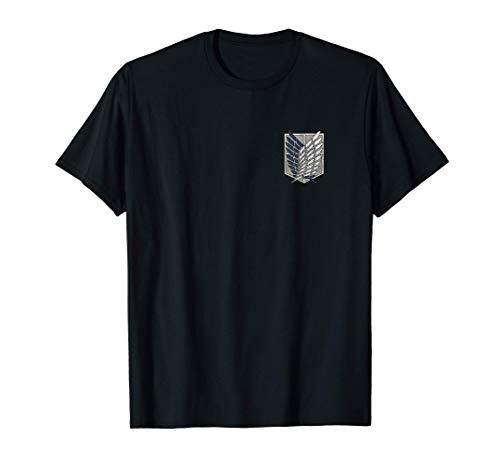 Attack on Titan Season 3 Scout Regiment Distress T-Shirt