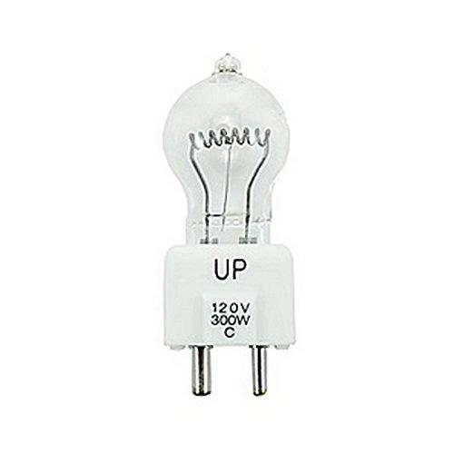 Ushio JCD120V-300WC | 300W 120V 2-Pin Prefocus Base Lightbulb