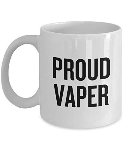 Lustige Vaping-Geschenkidee Vaping Kaffeetasse Zigaretten-Fans Geschenk Vaper Geschenk Proud Vaper