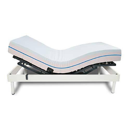 💪 Comprar cama ortopédica con control remoto color madera y con colchón