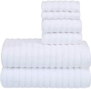 Performance Texture 6-Piece Towel Set, Color ARCWHT (BATH, HAND & WASH)