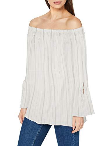ESPRIT Damen 990EE1F314 Bluse, Off White (110), 42