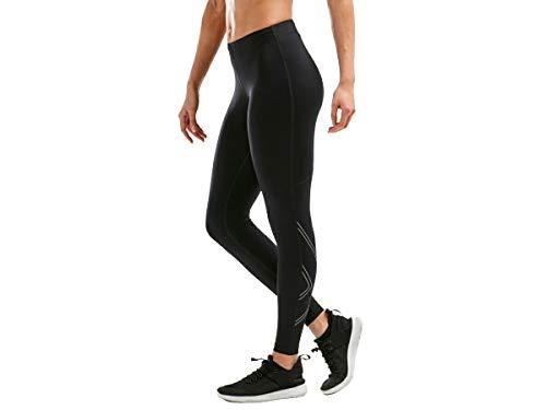 2XU Aspire Compression Tights Damen Black/Silver Größe M 2020 Laufsport Hose