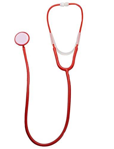 Yummy Bee - Estetoscopio Juguete Disfraz Mujer - Doctor Enfermeras Plástico Rojo...