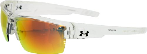 Under Armour Igniter Sunglasses, Clear / Gray Lens, 65 mm
