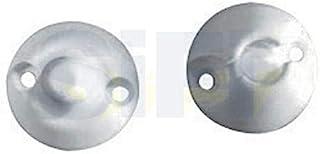 Fermo cattura Bianco 2/x Veneta caravan//statico//mobile//camper fermaporta