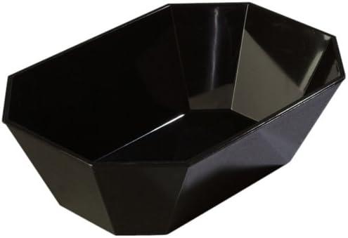 Carlisle (6713) - 5 lb Octagonal Crock-Black