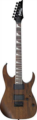 Ibanez GRG121DX Gio E-Gitarre, Walnuss, flach