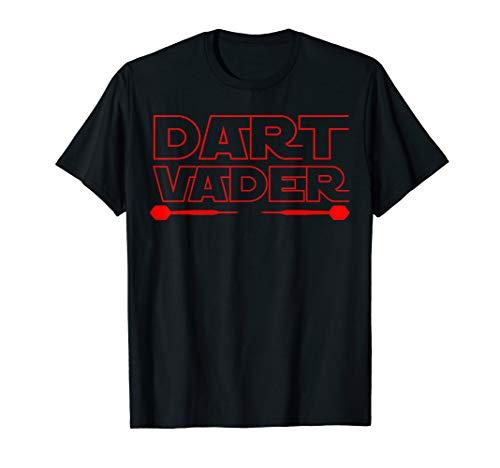 Dart Vader | 180 Darts Dart Dartspieler Geschenk | Darts T-Shirt