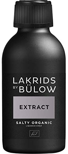 LAKRIDS BY BÜLOW - EXTRACT - Salty - 170g - Bio Lakritz-Sirup Salzig