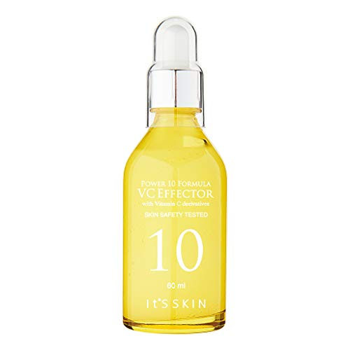 It S SKIN Power 10 Formula VC Effector 60ml (2.03 fl oz) - Green Tea Extract Skin Clearing Serum, Dark Spot Remover, Pore Tightening, Blemishes Care, For Radiant and Healthy Skin