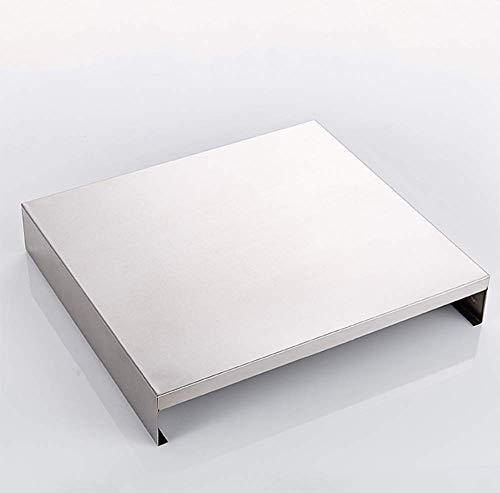 Solide Plateau de cuisson à induction 304 Poêle cuisine en acier inoxydable Tablette gaz Couverture Table de cuisson Ustensiles de cuisine Stockage RackQuantity: x1 (Size : X2)