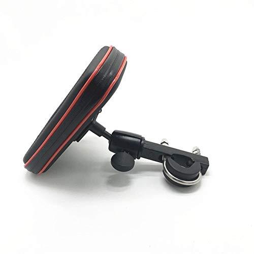 XUSUYUNCHUANG Titular vehículos Telefonía Montaje Soporte for el sostenedor del Soporte del teléfono iPhone 5S 7 6 Plus for GPS de la Bicicleta con Impermeable Bolsa Soporte Movil Moto
