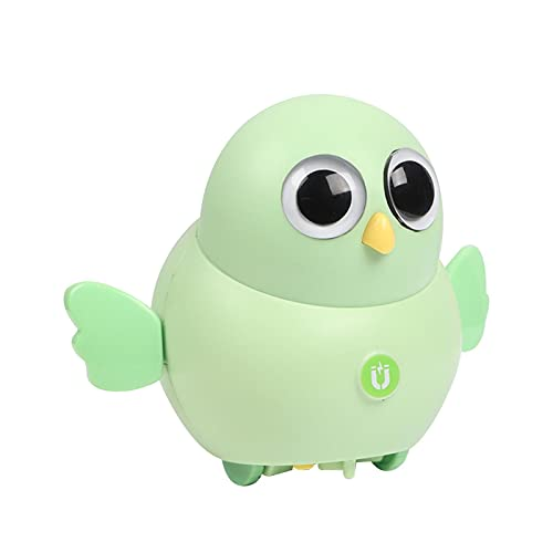 Juguete de pollo, columpio eléctrico, juguetes para bebés, juguetes electrónicos interactivos, bonito juguete de pollo magnético oscilante pollo   pato   regalo para niños búho (sin batería)