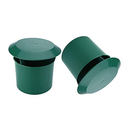 MagiDeal Trampa de Caracol 3,94'x 3,62' x 3,15'trampa de Caracol Gintrap ecológico jaula de Caracol herramientas de jardín Control de Plagas suministros de
