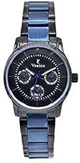Venice Fashion F5016-IPB-IPB-BL Watch For Women -blue/black