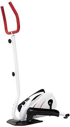 JISHIYU Entrenador elíptico Mini Cross Cross Trainer Máquinas, Pedal Elíptico Ejerciturador Transporte Trainer Pedal Compact Pedal Ejercitor for la salud de la salud en la vida cotidiana en el Movimie