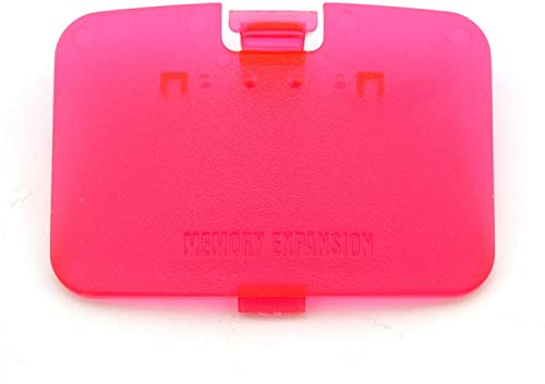 Replacement Protect Cover Jumper Pak Lid Door for Nintendo 64 N64 Expansion Pack (Red)