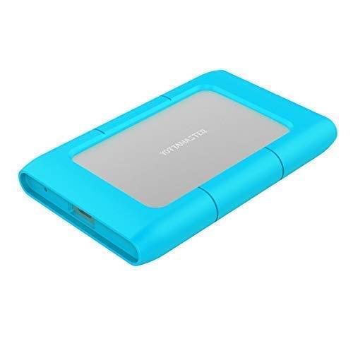 Yottamaster [ UASP e 2TB ] Alluminio 2,5 pollici USB 3.1 Tipo C SSD o HDD custodia per Disco Rigido Supportano SATA 3.0