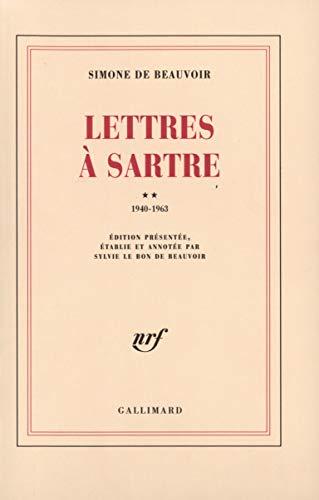 Lettres à Sartre, tome 2 : 1940 - 1963