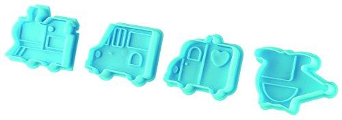 Fackelmann uitsteekvormpjes/Decora suikerpasta en koekjes met PP, meerkleurig