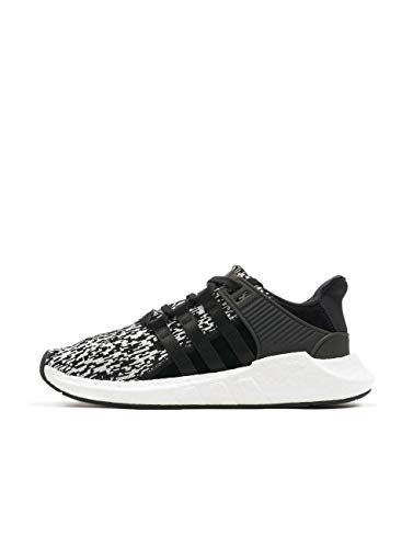 adidas adidas Herren EQT Support 93/17 BZ0584 Fitnessschuhe, Schwarz (Negbas/Negbas/Ftwbla), 44 2/3 EU