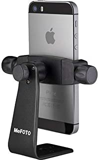 MeFOTO SideKick360 Smartphone Tripod Mount-Stand-Holder, Works with iPhone, Google, HTC, Nexus, Lumia, Galaxy, Xperia and all other Smartphones (see details below) - Black (MPH100K)