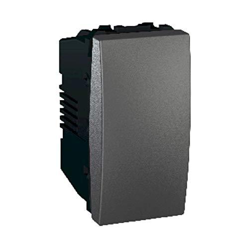 Interruptor basculante, 1 vía, 16AX (Schneider Electric MGU3.161.12)