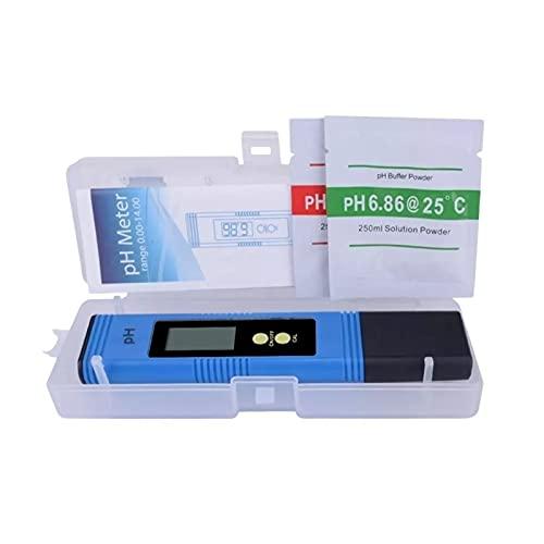 DADAKEWIN LCD Digital PH Meter PENSO Tester PERSECURACIÓN 0.01 Aquarium Piscina Agua Agua Vino DE URÍA CALIBRACIÓN AUTOMÁTICA (Accuracy : 0.01, Color : TPH01605B)