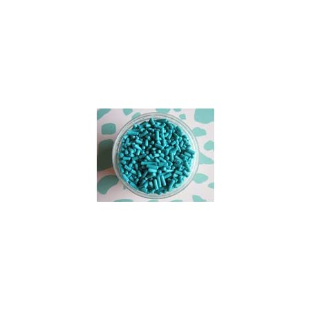 Sprinkles for your Cupcakes and Cake Pops Panthers tailgate party treats Blue Black and White Jimmies Mix 6 oz