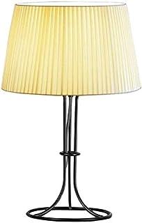 Lampes de table Lampe De Salon Nordic Creative Table Lampe Chambre à coucher Lampe de nuit Tissu Lampe de chevet Touche Bo...