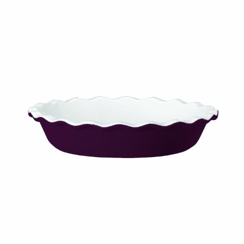 Emile Henry Pie Dish, 8-Inch, Figue