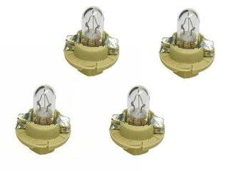 for BMW instrument cluster Bulb 1.5w Beige Socket Base (x4)