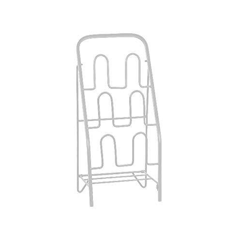Artículos para el hogar, Zapatero Organizador Entrada Baño Zapatero independiente Hogar Zapatero multifuncional Zapatero de metal de 3 pisos Adecuado para zapatos planos y zapatillas Estante de almac