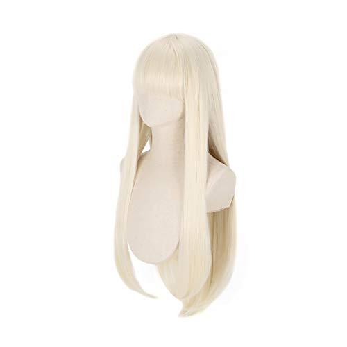 C-ZOFEK Yomoduki Runa Light Blonde Long Cosplay Wig (blonde)